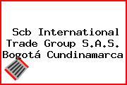 Scb International Trade Group S.A.S. Bogotá Cundinamarca