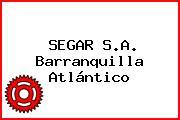 SEGAR S.A. Barranquilla Atlántico