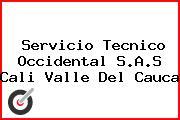 Servicio Tecnico Occidental S.A.S Cali Valle Del Cauca