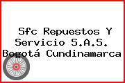 Sfc Repuestos Y Servicio S.A.S. Bogotá Cundinamarca