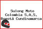 Sulong Moto Colombia S.A.S. Bogotá Cundinamarca