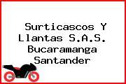 Surticascos Y Llantas S.A.S. Bucaramanga Santander