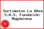 Surtimotos La 8Ava S.A.S. Fundación Magdalena