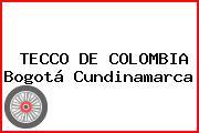TECCO DE COLOMBIA Bogotá Cundinamarca