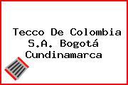 Tecco De Colombia S.A. Bogotá Cundinamarca