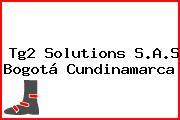 Tg2 Solutions S.A.S Bogotá Cundinamarca
