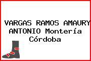 VARGAS RAMOS AMAURY ANTONIO Montería Córdoba