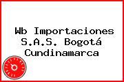 Wb Importaciones S.A.S. Bogotá Cundinamarca