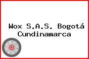 Wox S.A.S. Bogotá Cundinamarca