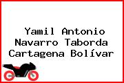 Yamil Antonio Navarro Taborda Cartagena Bolívar