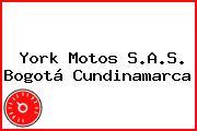 York Motos S.A.S. Bogotá Cundinamarca