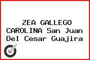 ZEA GALLEGO CAROLINA San Juan Del Cesar Guajira
