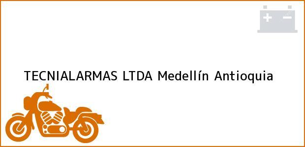 Teléfono, Dirección y otros datos de contacto para TECNIALARMAS LTDA, Medellín, Antioquia, Colombia