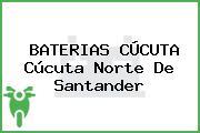 BATERIAS CÚCUTA Cúcuta Norte De Santander
