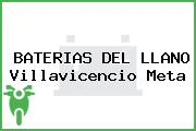 BATERIAS DEL LLANO Villavicencio Meta