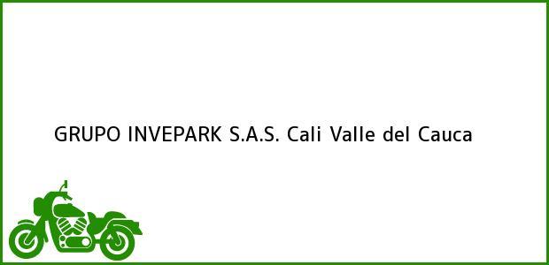 Teléfono, Dirección y otros datos de contacto para GRUPO INVEPARK S.A.S., Cali, Valle del Cauca, Colombia
