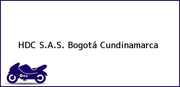 Teléfono, Dirección y otros datos de contacto para HDC S.A.S., Bogotá, Cundinamarca, Colombia