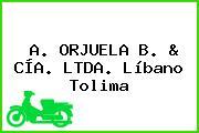 A. ORJUELA B. & CÍA. LTDA. Líbano Tolima