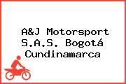 A&J Motorsport S.A.S. Bogotá Cundinamarca