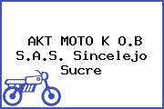 AKT MOTO K O.B S.A.S. Sincelejo Sucre