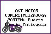 AKT MOTOS COMERCIALIZADORA PORTEÑA Puerto Berrío Antioquia