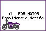 ALL FOR MOTOS Providencia Nariño