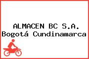 ALMACEN BC S.A. Bogotá Cundinamarca