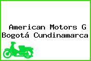 American Motors G Bogotá Cundinamarca