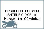 ARBOLEDA ACEVEDO SHIRLEY YOELA Montería Córdoba