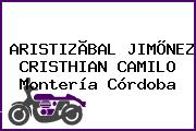 ARISTIZÃBAL JIMÕNEZ CRISTHIAN CAMILO Montería Córdoba