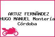 ARTUZ FERNÃNDEZ HUGO MANUEL Montería Córdoba