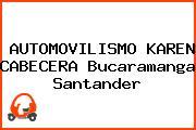 AUTOMOVILISMO KAREN CABECERA Bucaramanga Santander