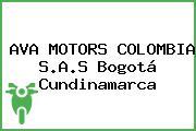 AVA MOTORS COLOMBIA S.A.S Bogotá Cundinamarca