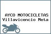 AYCO MOTOCICLETAS Villavicencio Meta