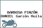 BARBOSA PINZÓN DANIEL Garzón Huila