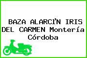 BAZA ALARCµN IRIS DEL CARMEN Montería Córdoba