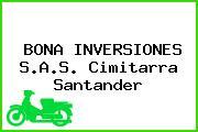BONA INVERSIONES S.A.S. Cimitarra Santander