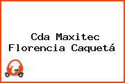 Cda Maxitec Florencia Caquetá