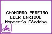 CHAMORRO PEREIRA EDER ENRIQUE Montería Córdoba