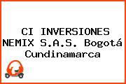 CI INVERSIONES NEMIX S.A.S. Bogotá Cundinamarca