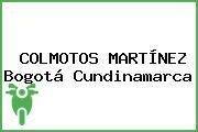 COLMOTOS MARTÍNEZ Bogotá Cundinamarca