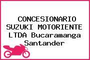 CONCESIONARIO SUZUKI MOTORIENTE LTDA Bucaramanga Santander