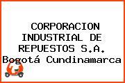CORPORACION INDUSTRIAL DE REPUESTOS S.A. Bogotá Cundinamarca