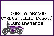 CORREA ARANGO CARLOS JULIO Bogotá Cundinamarca