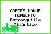 CORTÉS MANUEL HUMBERTO Barranquilla Atlántico
