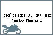 CRÉDITOS J. GUIDHO Pasto Nariño