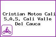 Cristian Motos Cali S.A.S. Cali Valle Del Cauca