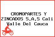 CROMOPARTES Y ZINCADOS S.A.S Cali Valle Del Cauca