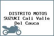 DISTRITO MOTOS SUZUKI Cali Valle Del Cauca