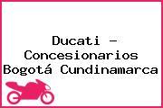 Ducati - Concesionarios Bogotá Cundinamarca